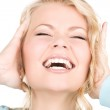 Happy screaming woman — Stock Photo #11757500