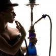 Woman with hookah — Stock Photo #11758453
