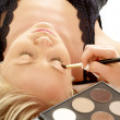 Stock Photo: Professional makeup
