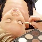 Professional makeup — Stock Photo