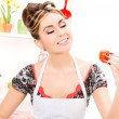 Housewife — Stockfoto