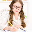 Stock Photo: Elementary school student