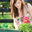 Happy gardening — Stock Photo