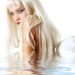 Angel in water — Stock Photo #11766699