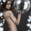 Stock Photo: Wild thing with glitterball
