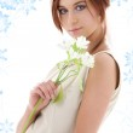 biały kwiat — Zdjęcie stockowe