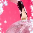 High heels and disco ball — Stock Photo #11769033