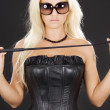 Stock Photo: Dominatrix