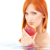 Red apple — Stock Photo