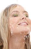 Warm shower — Stock Photo