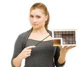 Agente immobiliare — Foto Stock