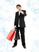 Shopping man — Stock Photo