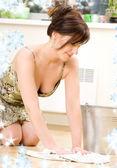 Housewife — Foto de Stock