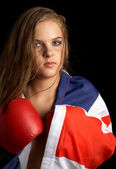 British boxer — Stock Photo