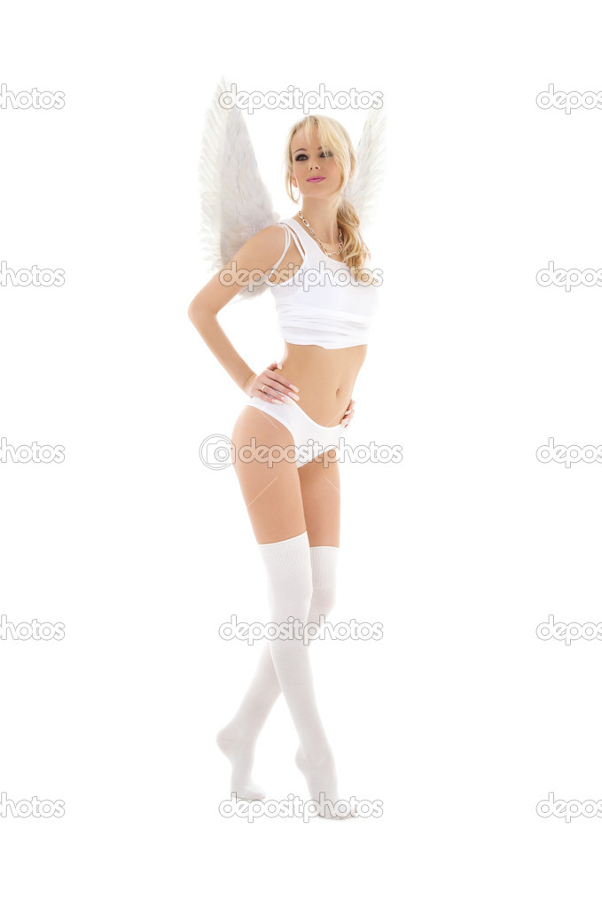 ангел в чулках