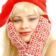 Christmas girl — Stock Photo #11771133