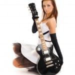 Black guitar — Stock Photo #11771961