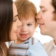 Happy family — Stock Photo #11772013