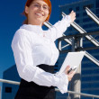 Happy businesswoman — Stock Photo #11772395