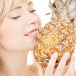 Foto Stock: Pineapple