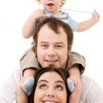 Happy family — Stock Photo #11772797