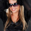 Stock Photo: Girl in shades