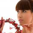 Stock Photo: Ashberry woman