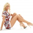 Classical pin-up blond — Stock Photo #11775572