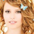 Butterfly girl — Stock Photo #11775869