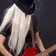 Rock babe — Stock Photo #11776121