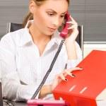 Office girl — Stock Photo #11776148