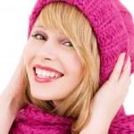 Happy teenage girl in hat — Stock Photo #11776371