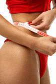 Waist measurement — Stockfoto