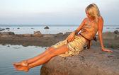 在海边的一天 — 图库照片