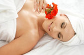 Spa relaxation — Stock Photo