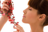 Ashberry woman — Stock Photo