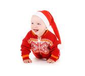 Santa yardımcı bebek — Stok fotoğraf