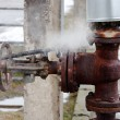 Large rusty valve is broken. — Stock Photo #11382866