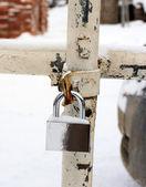 Shiny lock — Stock Photo
