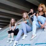 Teens group — Stock Photo #11630155