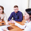 Discussing contract — Stock Photo #11630916