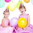 Balloon girls - Foto Stock