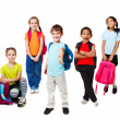 Primary school students - Stock Photo