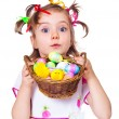 Easter kid — Stock Photo