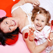 Granny and little girl — Stock Photo #11632740