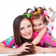Happy mother and daughter — Stock Photo #11632741