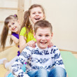 Laughing children — Stock Photo