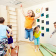 Children enjoying gym class — Stock Photo #11633140