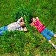 Dreaming on grass — Stock Photo #11633475
