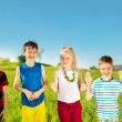 Children group - Stock Photo